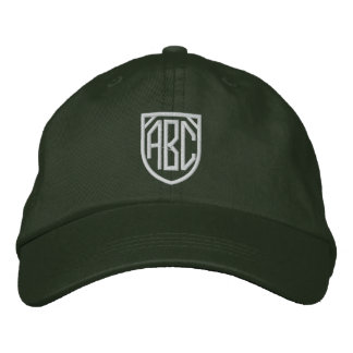 Embroidered Monogram Cap Embroidered Hats