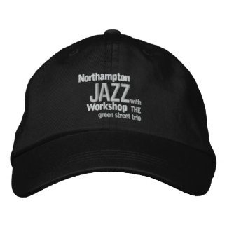 Embroidered Northampton Jazz Workshop Cap Embroidered Cap