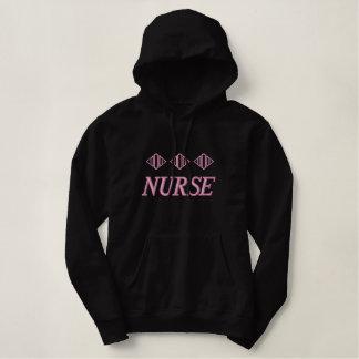Embroidered Nurse Hoodie