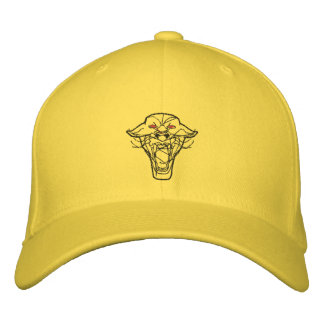 Embroidered Panther Hat Embroidered Baseball Caps