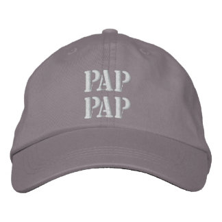 Embroidered Pap Pap Grandpa Hat Gift Embroidered Baseball Cap