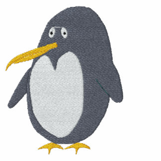Embroidered Penguin T-Shirt