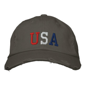 Embroidered USA Sports Hat Embroidered Hats