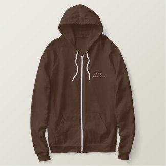 Embroidered Zany Kreations Hoodie