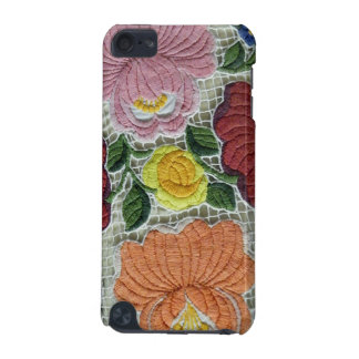 Embroidery Folk Art Flowers iPod Touch (5th Generation) Covers