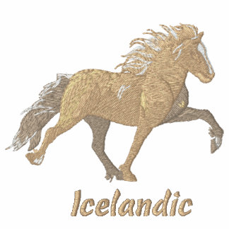 Embroidery Shaded  Tan Icelandic Embroidered Shirts