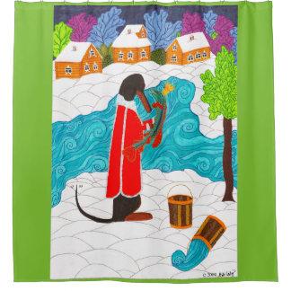 Emelya and the Magic Pike Shower Curtain