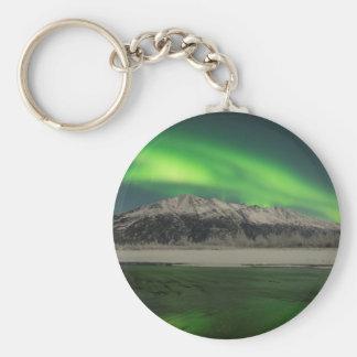 Emerald Aurora Key Ring
