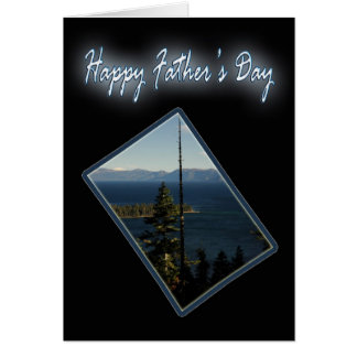 Emerald Bay Father's Day Card