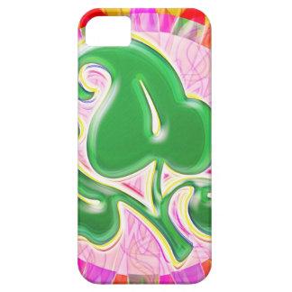 Emerald Green Leaf Jewel iPhone 5 Cover