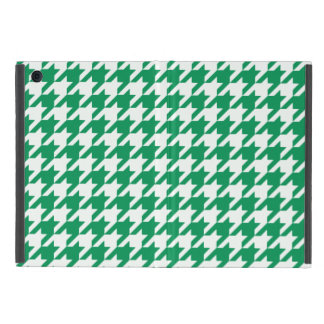 Emerald Houndstooth 1 Cover For iPad Mini