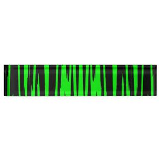 EMERALD ISLE (an abstract art design) ~ Nameplate