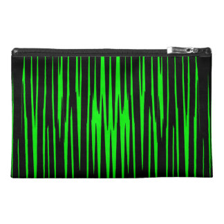 EMERALD ISLE (an abstract art design) ~ Travel Accessory Bags