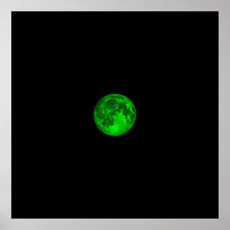Emerald Moon Poster