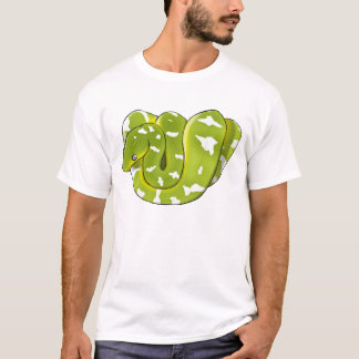Emerald Tree Boa (Updated) T-shirt (mens)