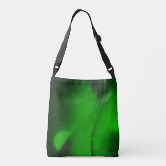 Emerald Wave Crossbody Bag