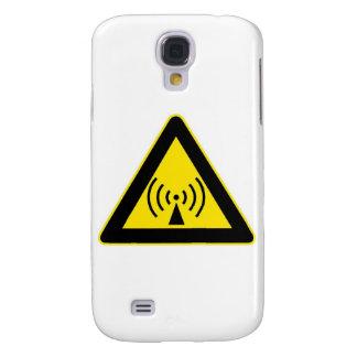 EMF WARNING GALAXY S4 CASE