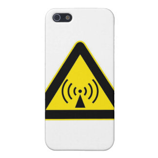EMF WARNING iPhone 5/5S CASES