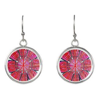 Emily Red Design - Drop Earrings