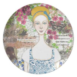 Emma Woodhouse Dinner Plate