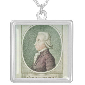 Emmanuel Joseph Sieyes Silver Plated Necklace