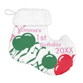 Emma's 1st Birthday 20XX, Customize It! Elf Christmas Stocking