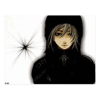 Emo Anime Postcard