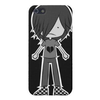 emo chibi iphone 4 casing iPhone 5/5S case