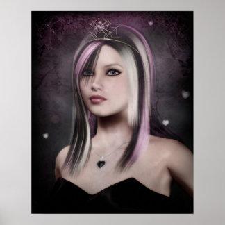 emo princess poster