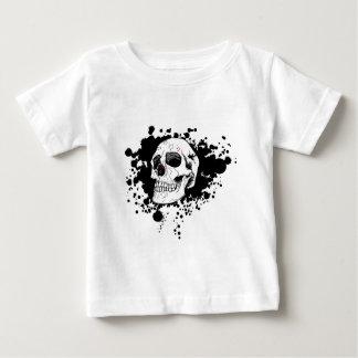 EMO Skull Baby T-Shirt