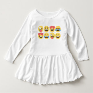 Emoji Dress - Emoji Faces