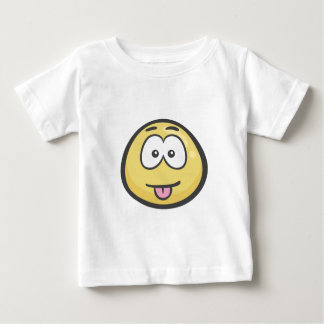Emoji: Face Savouring Delicious Food Baby T-Shirt