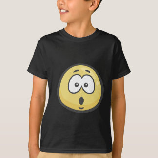 Emoji: Face With Open Mouth T-Shirt