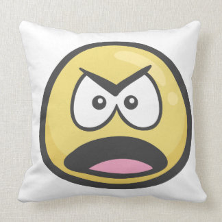 Emoji: Frowning Face With Open Mouth Cushion