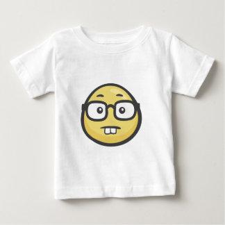 Emoji: Geek Face Baby T-Shirt