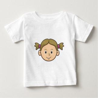 Emoji: Girl Baby T-Shirt