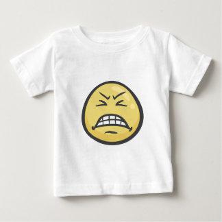 Emoji: Grimacing Face Baby T-Shirt