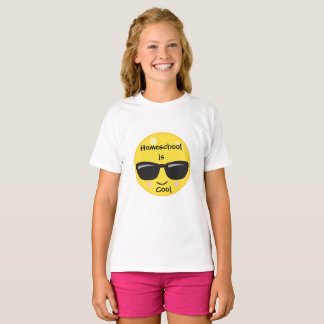 Emoji Homeschool is Cool T-Shirt
