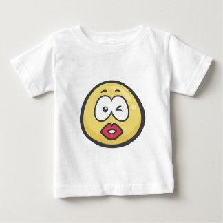 Emoji: Kissing Face Baby T-Shirt