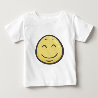 Emoji: Relieved Face Baby T-Shirt