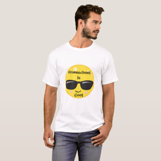 Emoji Sunglasses Homeschool is Cool T-Shirt