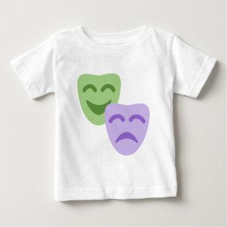 Emoji Twitter - Drama Theater Baby T-Shirt