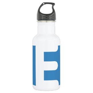 emoji Twitter - Letter E 532 Ml Water Bottle