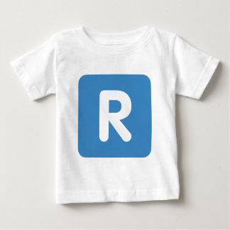 Emoji Twitter Letter R Baby T-Shirt
