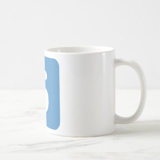 Emoji Twitter - Letter S Coffee Mug