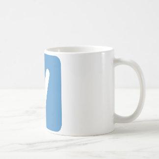 Emoji Twitter - Letter V Coffee Mug