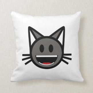EmotiKitty - Throw Pillow