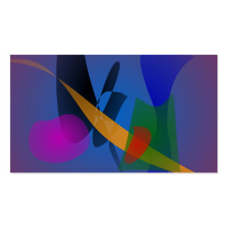 Emotion Abstract Art Business Card
