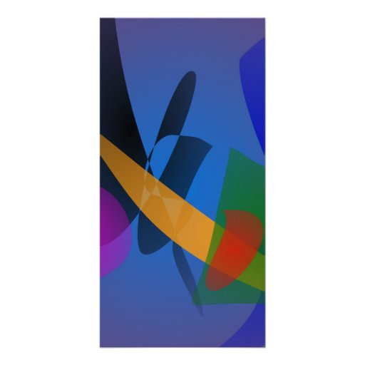 Emotion Abstract Art Photo Card