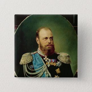 Emperor Alexander III 15 Cm Square Badge
